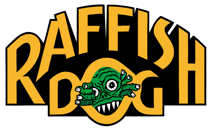 RAFFISH DOG LOGO